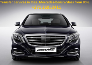 Transfer in Riga with Mercedes-Benz S-Class W222